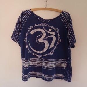 Om Psychedelic Hindu Sixties Bum Shirt